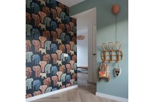 Kleuradvies olifanten behang