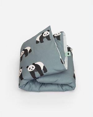 Panda dekbedovertrek - 1 persoons