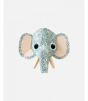 Olifant muursticker spots - large
