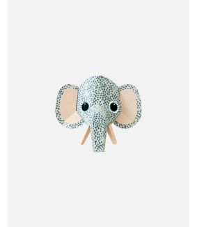 Olifant muursticker spots - small