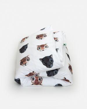 Panthera dekbedovertrek - ledikant