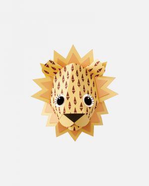 Leeuw muursticker cones - large