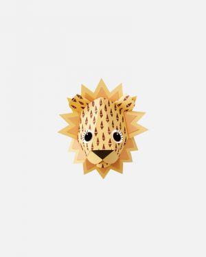 Leeuw muursticker cones - small