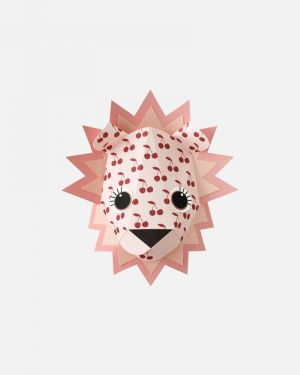 Leeuw muursticker kersen - large