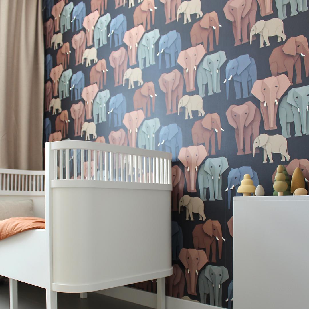 Otis' kamer met olifanten